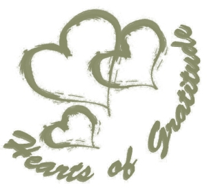Hearts of Gratitude (logo) green