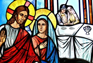 Jesus at Wedding of Cana