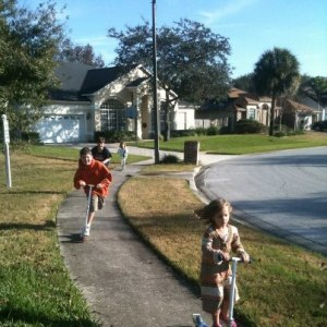 cousins scootering in orlando