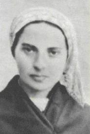 Saint Bernadette--I love this picture. She's so beautiful.