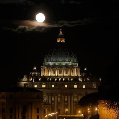 full moon vatican feb 27 2013