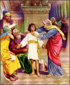 Jesus in the Temple Luke 2:46-50