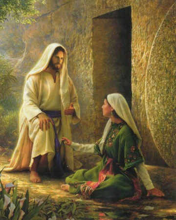 Jesus appears to Mary Magdalene--Olsen